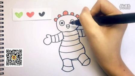 可乐姐姐学画画 第一季 花园宝宝 圆宝宝
