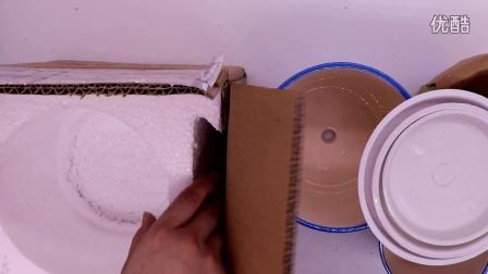 多肉植物花盆室内简约陶瓷绿萝盆栽大号花盆托盘开箱160819