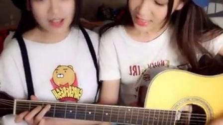 """SNH48严佼君160820:#仓鼠的弹唱# """"我说今晚月光那么美,你说是的😌"""" ——好妹妹乐队"""