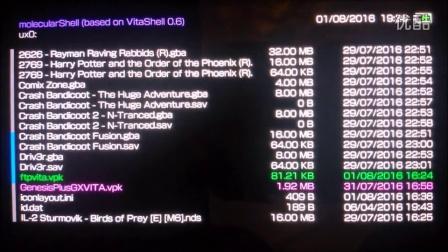 使用Henkaku的molecularshell通过FTP软件提取PSV的游戏教程