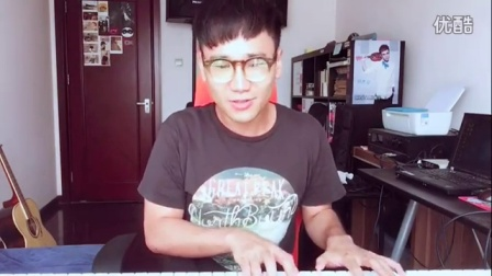 钢琴弹唱《红玫瑰》