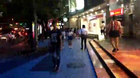 2016 821深圳市 罗湖区东门茂业百货门口 延时摄影。