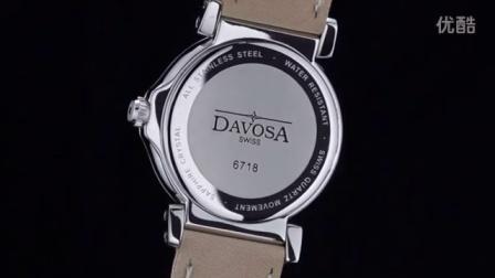 迪沃斯 阿里尔系列 女士石英表 皮带 16755815