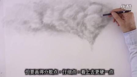 【绘笔万象】如何用石墨粉画出唯美火车