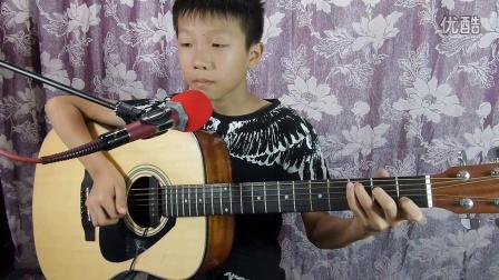 《灰姑娘》周鑫吉他弹唱20160824_190523