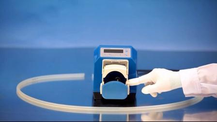 兰格精密泵工业型蠕动泵 G100-1J 软管安装
