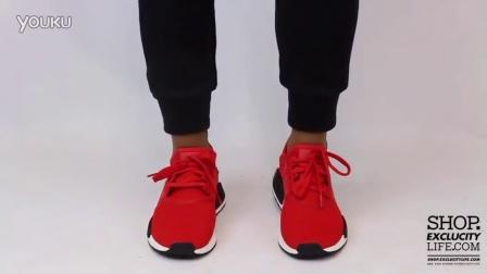 Adidas NMD R1 Red Black 上脚欣赏