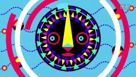 儿童卡通动漫人物动画片LED动态背景视频素材