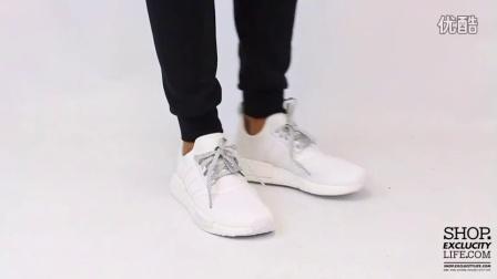 Adidas NMD White 上脚欣赏
