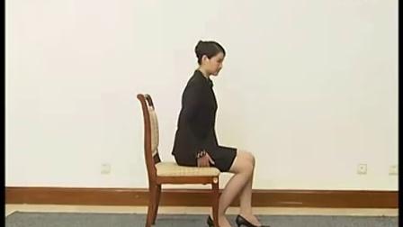 杏林白马礼仪培训-基础姿势训练