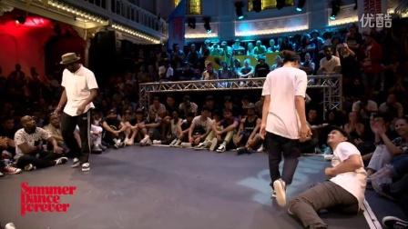 【曳舞青春】-【街舞】Dassy vs Breakz 2ND ROUND BATTLES Popping Forever