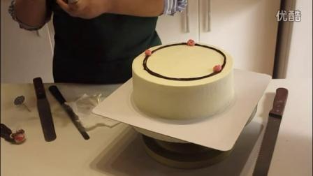 棉花糖烘焙工作室 光彩照人的韩式裱花蛋糕