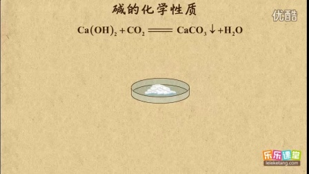 碱的化学性质
