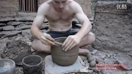 澳洲小哥野外求生技能(第10集):制作壁炉和陶罐_高清