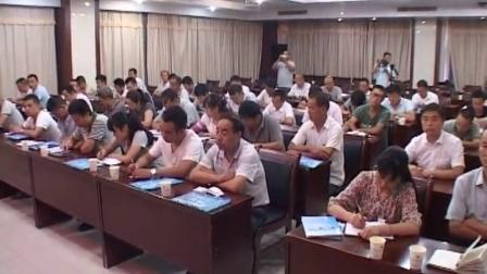 我县举办2016年气象灾害防御暨气象信息员培训班(成县电视台)