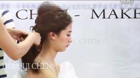 婚纱照新娘发型2妆面造型(14)21新娘化妆技巧