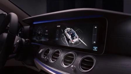 梅赛德斯-奔驰全新长轴距E级车预售广告