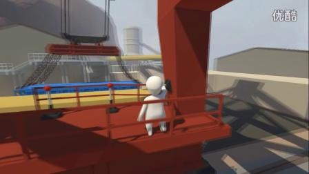 平静风带《人类:一败涂地》极限挑战,逗比的码头工人体验