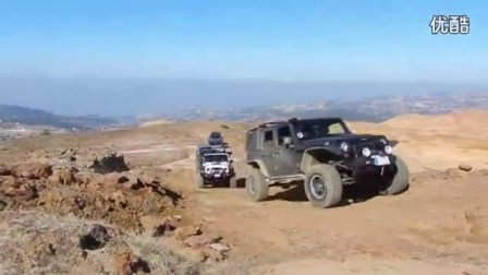 Jeep Wrangler Rubicon offroad trail_高清