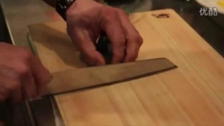 厨刀——旬BLUE切付牛刀系列使用展示