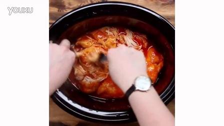 鸡肉 法式小面包