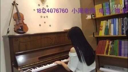 龙华清湖弹钢琴学钢琴《别恐惧》优美动听女生学钢琴很有气质
