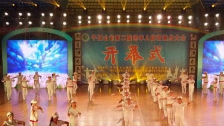 河南省平顶山市第二届老年人体育健身大会开幕式图片花絮