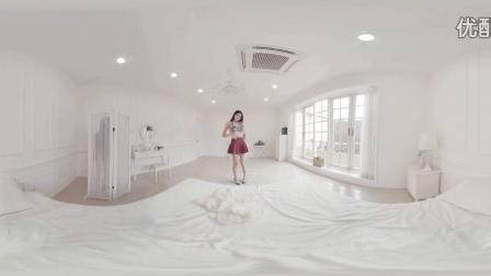 360 VR Video - SEXY Asian GIRL Undressing on the Bed
