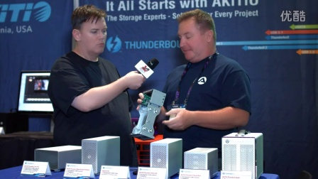 NAB 2016 Akitio is Exciting New Thunderbolt 3 Drives