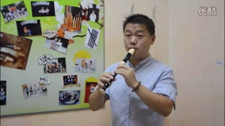 ste.R(斯笛诺)高音竖笛刘畅老师试音,手机录制。