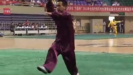 搜狐视频-2012年全国传统武术比赛暨农民武术比赛D组046螳螂拳白猿偷桃盖云龙