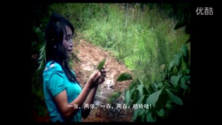 苗族电影《我该怎样爱你》彩花变傻