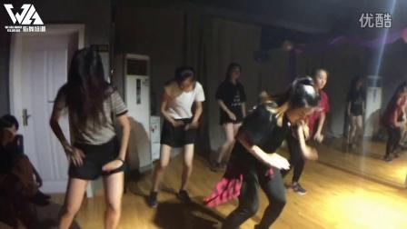 三亚WA街舞培训机构-2016暑期JAZZ班-导师小媤