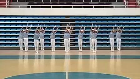 鸡西市体育局推广国家体育总局快乐舞步健康操