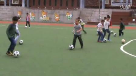 孝陵卫中心小学周末足球兴趣班训练实况