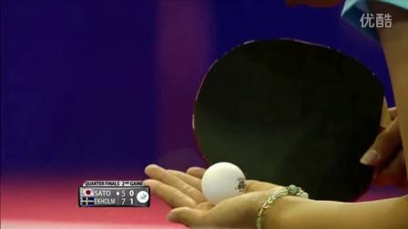 2016捷克公开赛 女单 8强赛 佐藤仁美vs埃克霍姆 乒乓球比赛视频 完整版