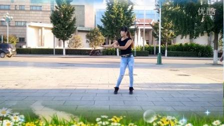 20165最新广场舞《天在下雨我在想你》水蜜桃广场舞