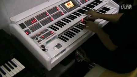 决战!加勒比海盗  影视原声 双排键电子琴演奏  一分钟后惊艳!