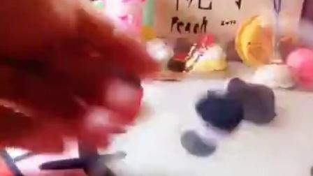超轻粘土米奇蛋糕教程