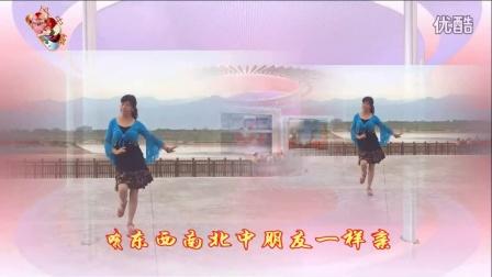 风中梅花广场舞 问候你 舞动旋律心随编舞 永不疲倦老师制作