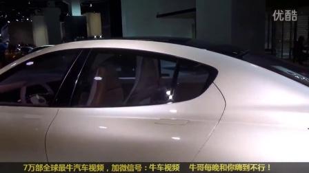 2016台湾昶洧Thunder Power纯电动车 续航里程650km 秒特斯拉
