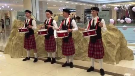 苏格兰军鼓表演