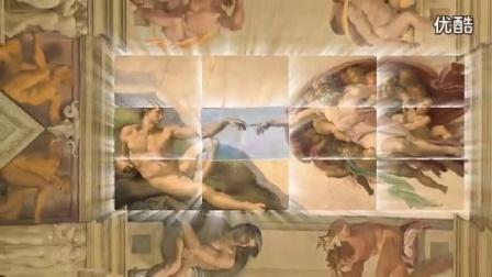 梵蒂冈宗座宫殿之西斯廷教堂创世纪壁画_标清