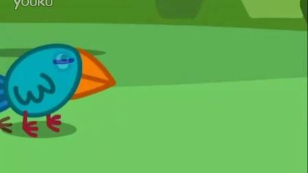 小猪佩奇发现鸟窝趣事