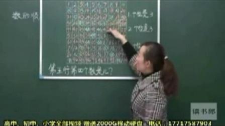 数学小学1下__第4课第2节 数的顺序_比较大小黄冈名师课堂 小学数学一年级上 杨娜 全21讲