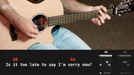 Sorry - Justin Bieber 吉他教学