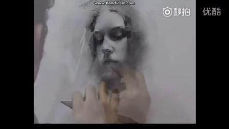美国现代素描人物肖像素描教学绘画教程