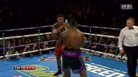重量级拳击全程录像 约书亚VS怀特