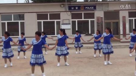 嘎岔村蓝玫瑰舞蹈队