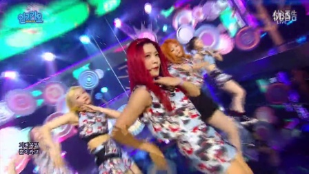 【Sxin隋鑫】[超清现场]160911 Red Velvet - Lucky Girl  Russian Roulette SBS 人气歌谣 Inkigayo